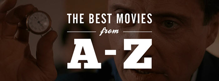 A to Z movies list