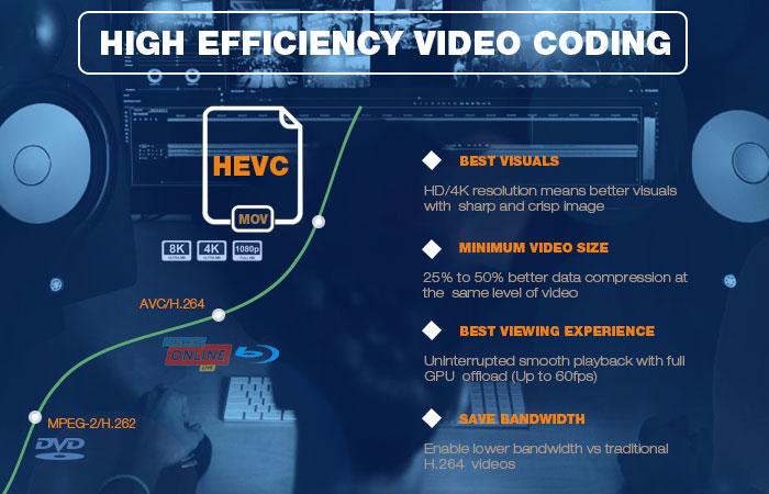 HEVC Converter: Best H 265 Video Converter/Encoder for