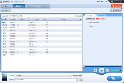 Hardware Accelerated DVD Ripper Software - DVDFab