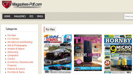 PDF形式で雑誌を無料ダウンロード