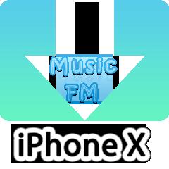 本物Music FMをiPhone Xにダウンロード