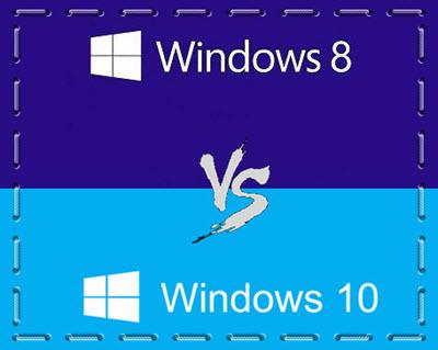 Windows 10とWindows 8の違い