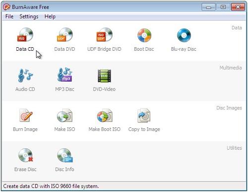 Windows10でDVD作成