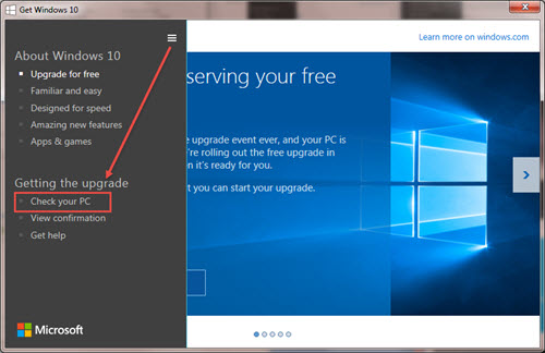how to set compatibility mode for apps in windows 10