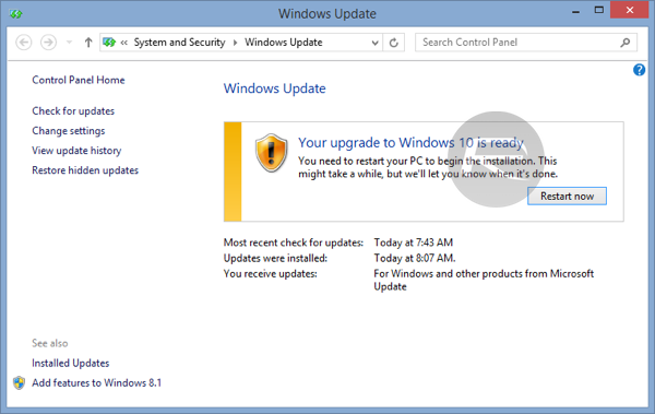 download windows 8 updates manually