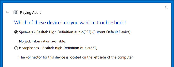 How to Fix No Sound or Audio Fading Issue in Windows 10